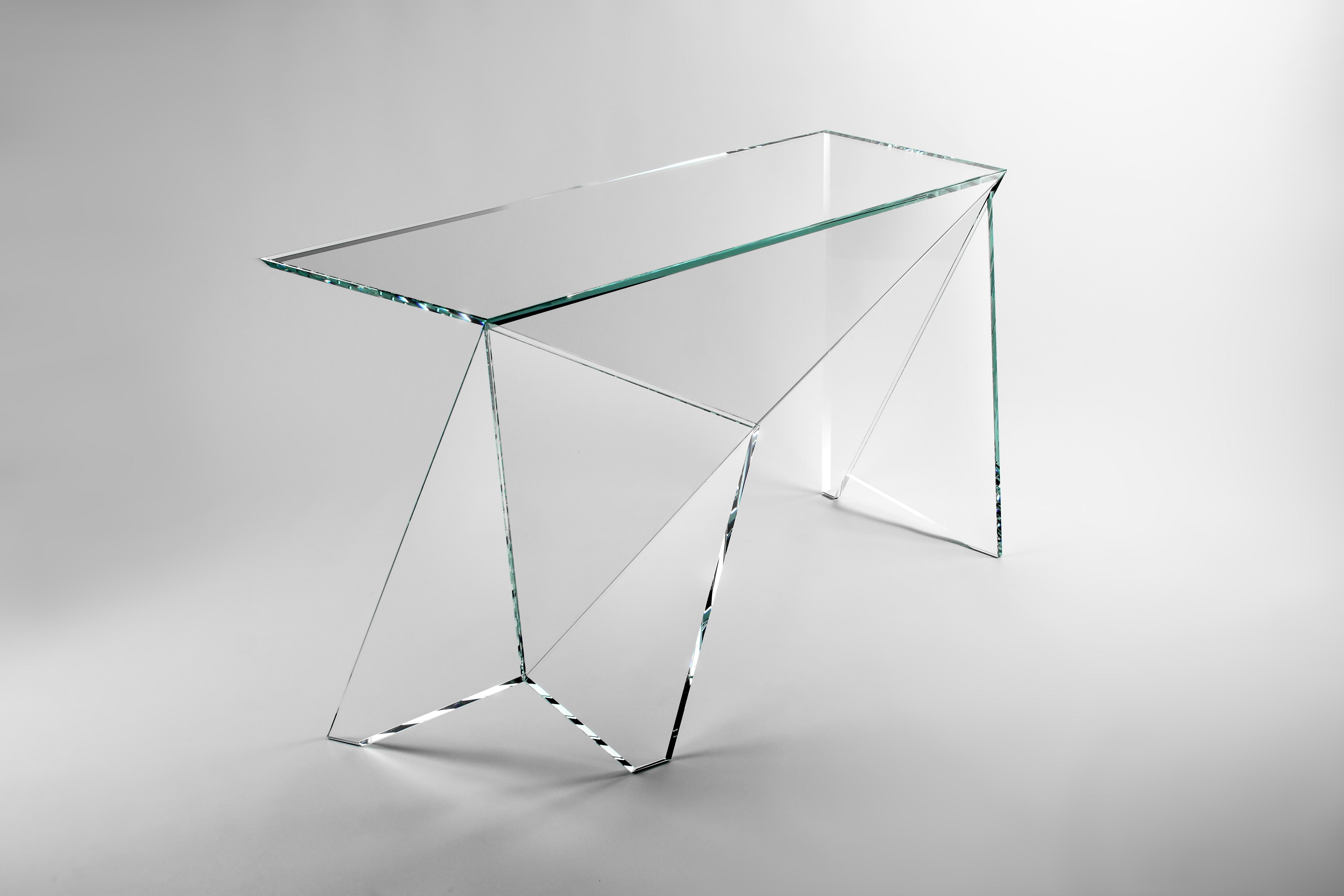 Origami slim desk - Barberini & Gunnell