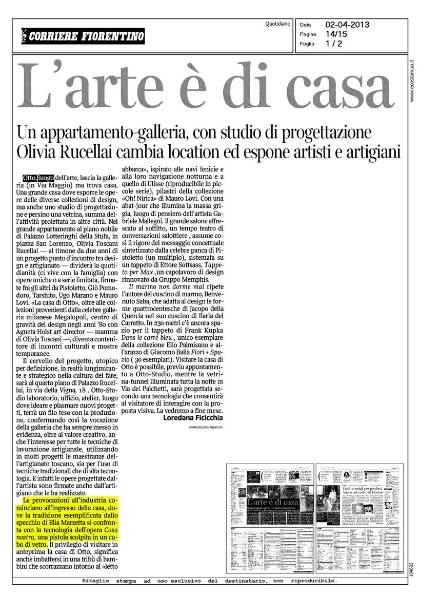 CORRIERE FIORENTINO 04-2013
