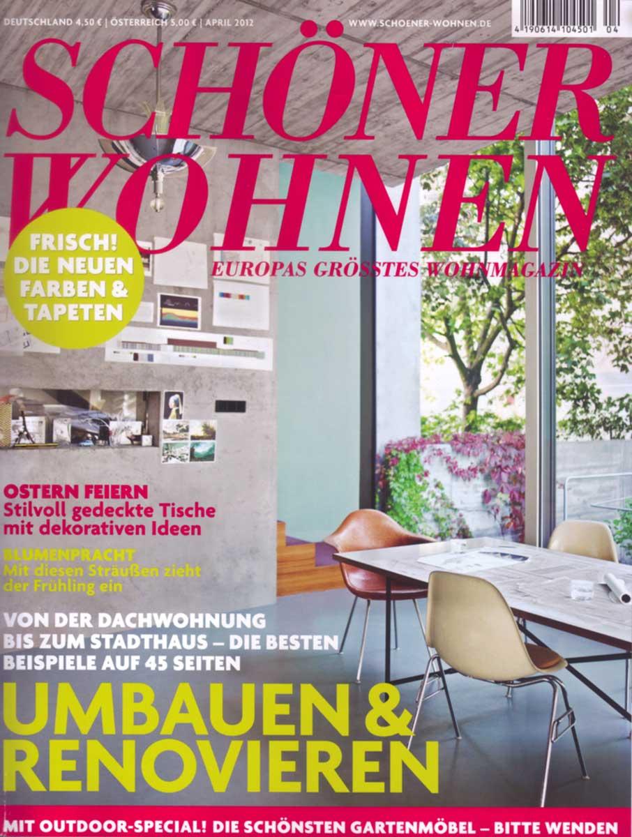 SCHÖNER WOHNEN AUSTRIA 04-2012